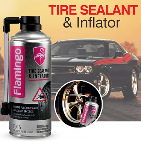 Flamingo Tire Sealant And Inflator 450ml