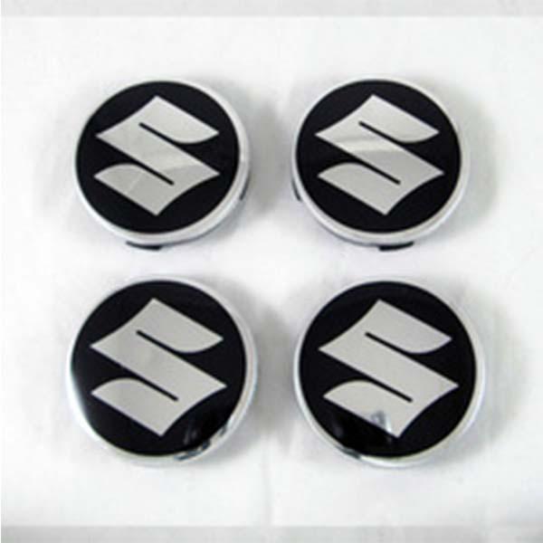 Suzuki Alloy Wheel Center Caps Black