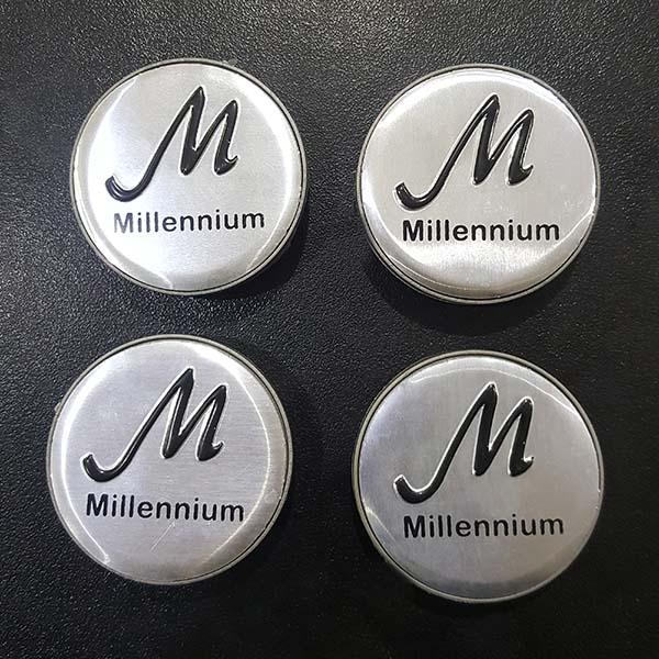 Millennium Alloy Wheel Center Caps