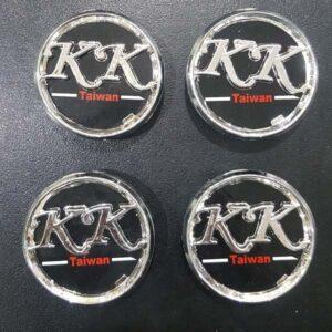 K K Taiwan Alloy Wheel Center Caps