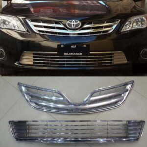 Toyota Corolla Front Grill Set Chrome 2012