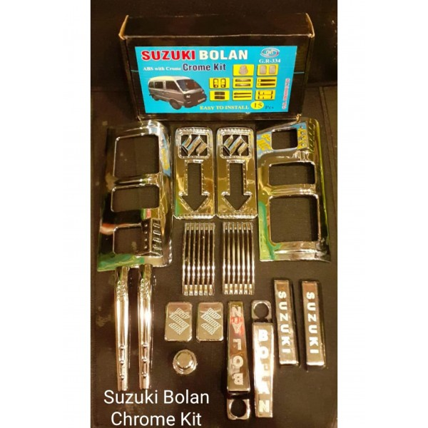Suzuki Bolan ABS With Chrome Kit G.R-334