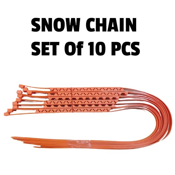 Universal Auto Car Snow Chain Anti-Skid 10Pcs Set