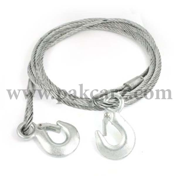 Universal Auto Steel Tow Rope Cable 6mm