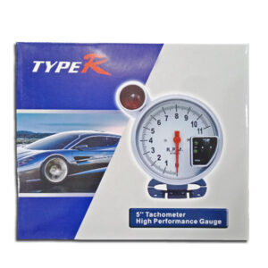 """5"""" Tachometer High Performance Gauge With Multi Color Light"""