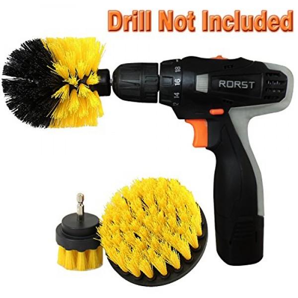 Power Scrubber Brush Set Drill Brush Cleaning Power Scrub Brush