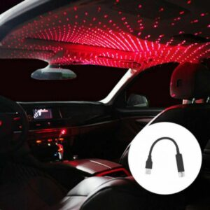 Star Light Car LED Roof Projection Atmosphere Starlight Decorative Interior Lamp