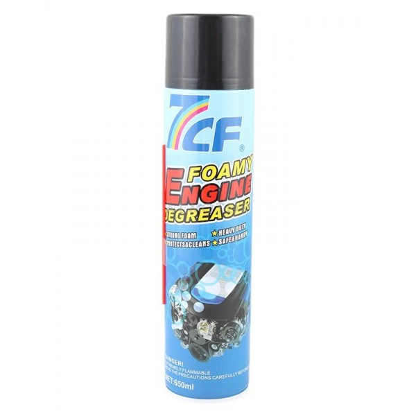 7cf Engine Foamy Degreaser – 650 Ml -Original
