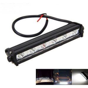 "Universal Car/Bike 6 LED Fog Bar Light 7"" Inch 2Pcs Set"