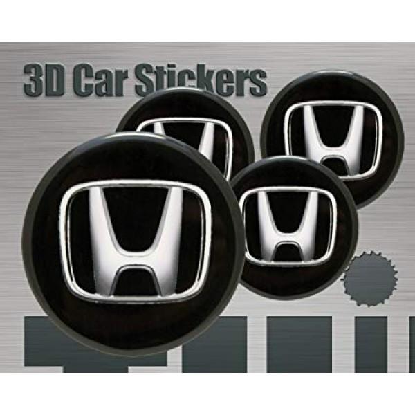 Universal Alloy Rim And Wheel Cup Cap Honda