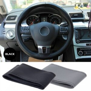 Car Steering Cover Stitching Gray