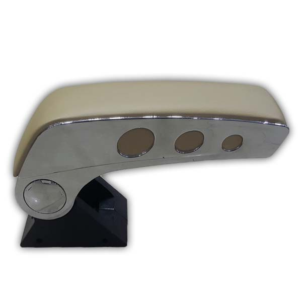 Universal Luxury Arm Rest With Chrome AC-471