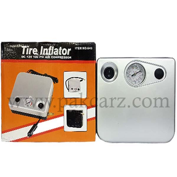 Air Compressor Tire Inflater 100PSI