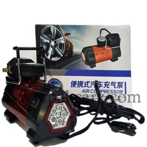 Air Compressor With LED Light BESDI 140PSI