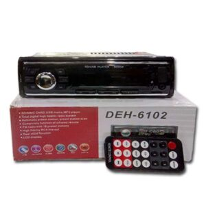 Auto MP3 And Radio Player Usb Aux DEH-6102 Classic