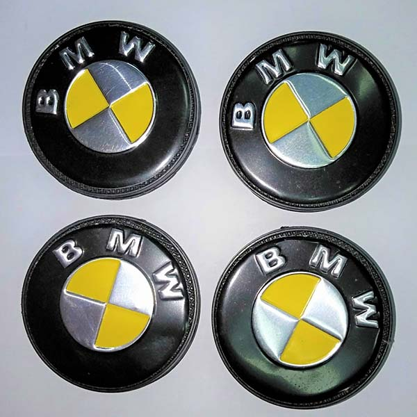 Universal Alloy Rim And Wheel Cup Cap BMW