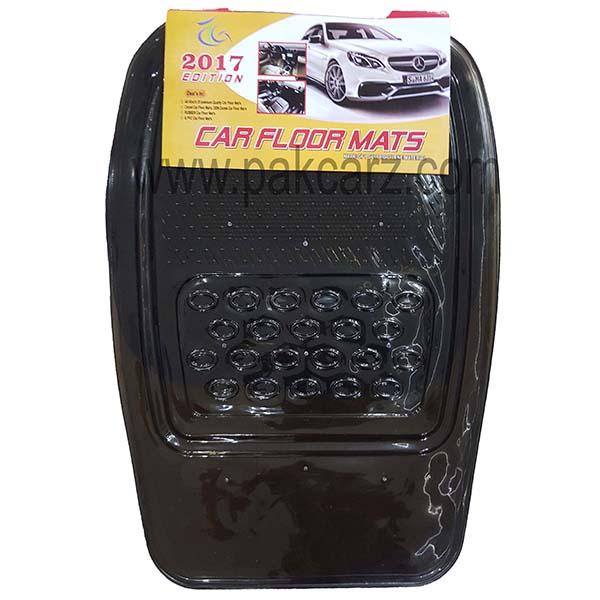 Universal Car Floor Mat 5Pcs Crystal Smoke 060