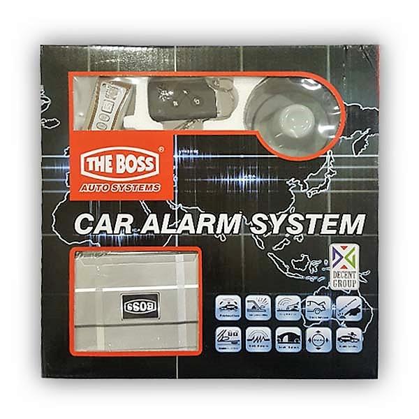 The Boss Car Alarm Security System