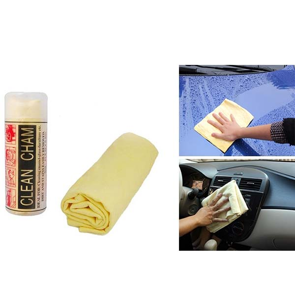 Clean Champ Chamois Multipurpose Cleaning Cloth