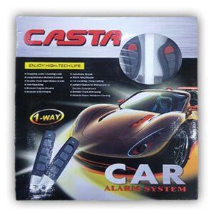 Casta Car Alarm Security System 1 Way