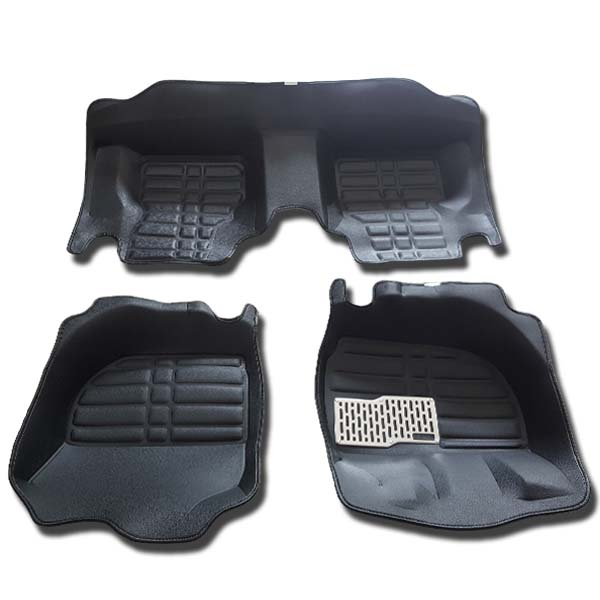 Honda City 5D Car Floor Mat Black 2009-18
