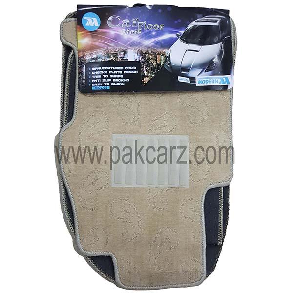 Honda Civic Car Floor Carpet Mat Beige 2012-2013