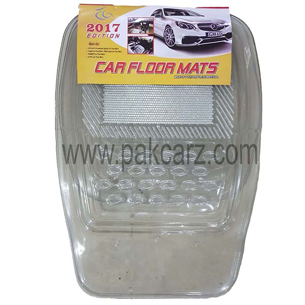 Universal Car Floor Mat Crystal White 060