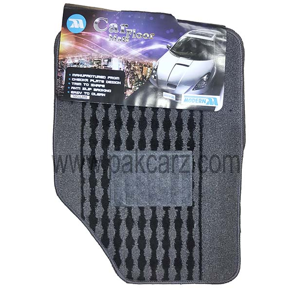 HIJET Car Floor Carpet Mat Perfect Fit Which Prevents Any Unwanted Movement Full Set With Heel Pad On Drivers Mat. Main Picture Is For Illustration Purposes Mats Will Be An Exact Fit For Your Vehicle - Please Look At The Template To See The Exact Shape Of The Mats