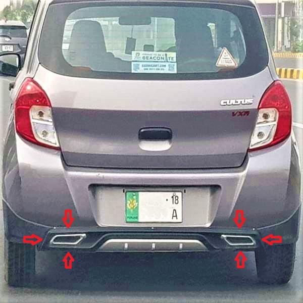 Suzuki Cultus Back/Rear Bumper Sports Diffuser