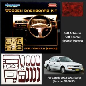 Indus Corolla Wooden Dashboard Kit 1992-2001