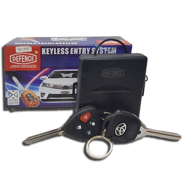 Defence Key Less Entry System