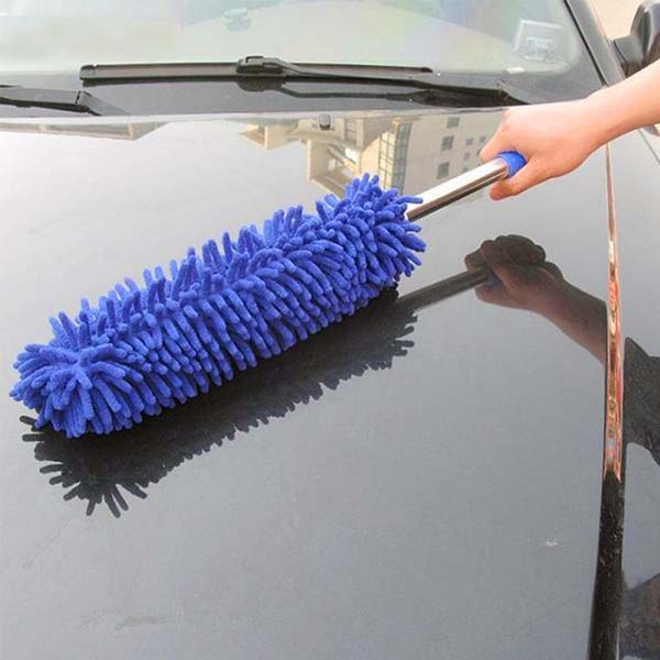 Adjustable Extendable Microfiber Duster Easy Cleaning Dusting Brush