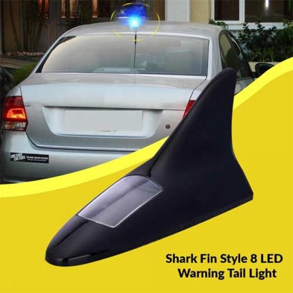 Universal Car Styling Multicolor Light Lamp Aerial Antenna Solar