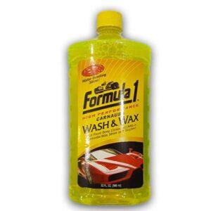 Formula 1 Car Wash And Wax Shampoo 946ml