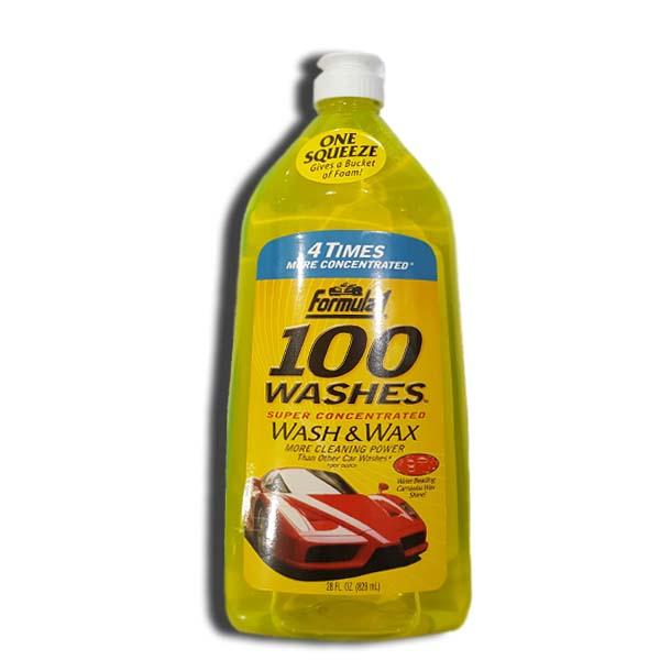 Formula 1 Car Wash and Wax 100 Washes Shampoo 828ml