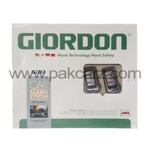 Giordon Car Alarm Security System