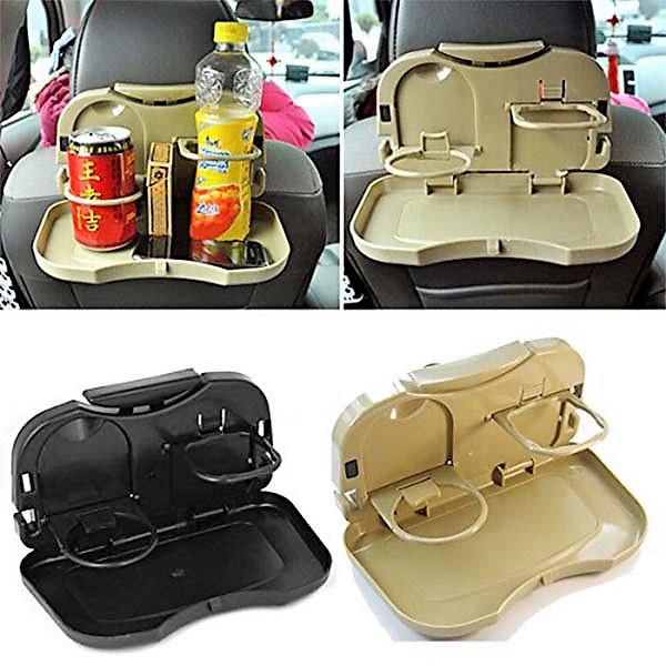 Folding Car Auto Back Seat Glass Holder