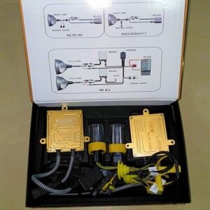 Brightness Adjustable 150W HID Xenon Headlight Kit Tube H1 H3 H4 H7 H11