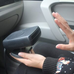 Auto Car Heater Portable Heating Fan
