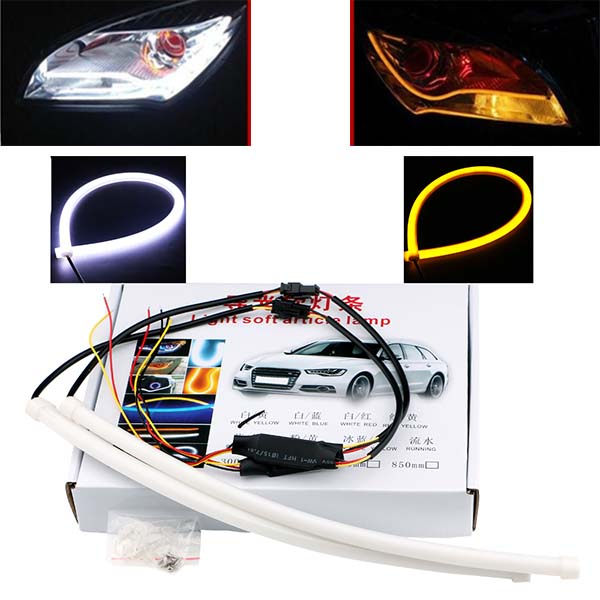 Headlight Dual Color DRL Flexible SMD