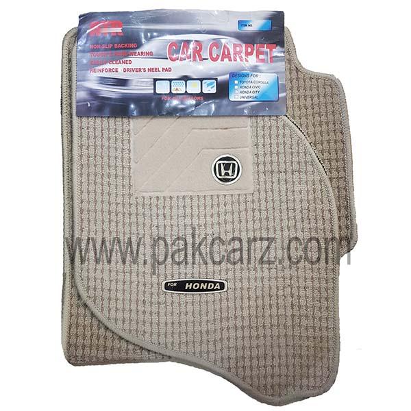 Honda Civic 2016 Car Floor Carpet Mat
