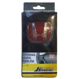 Honda Steering Logo Red