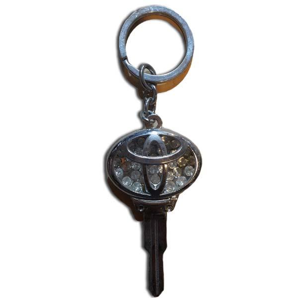 Toyota Logo Key Chain Chrome Special