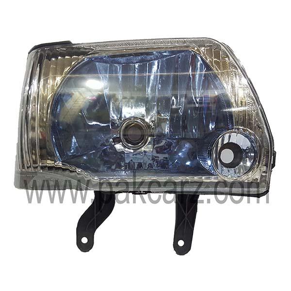 Suzuki Mehran Blue Tint Head Light Set