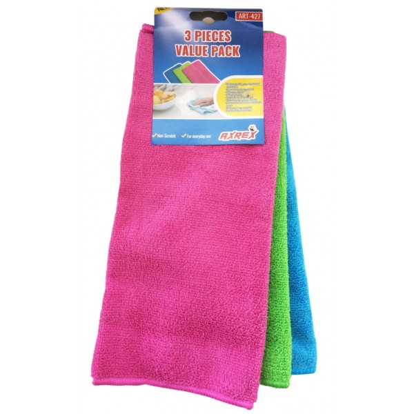Microfiber Towel 3 in 1 Pack