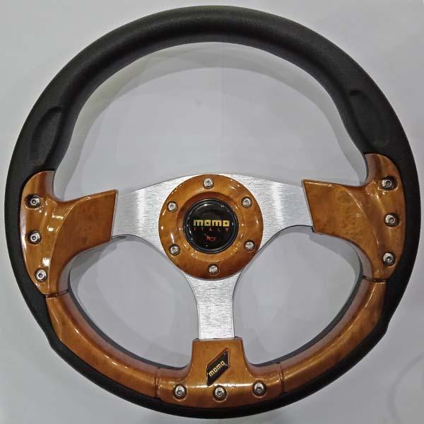 Momo Car Steering Wheel Wooden