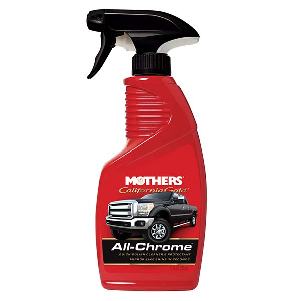 Mothers All Chrome Quick Polish Cleaner 12oz