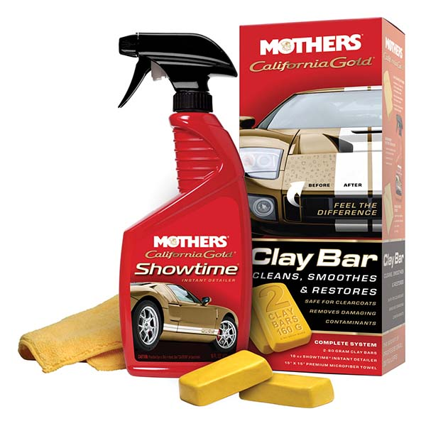 Mothers California Gold Clay Bar System Kit
