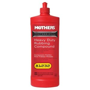 Mothers Heavy Duty Rubbing Compound 32oz