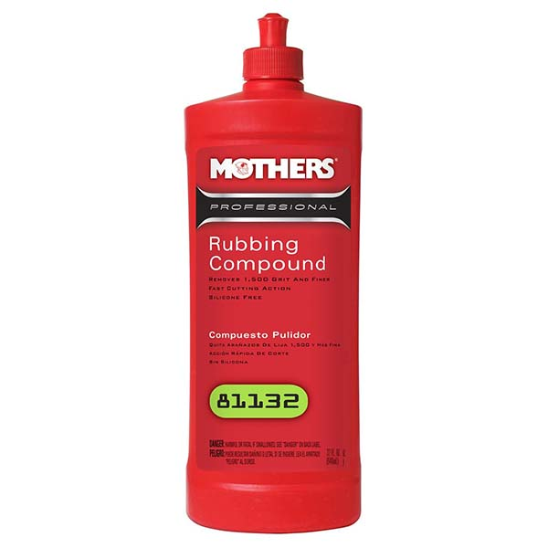 Mothers professional Rubbing Compound 12oz